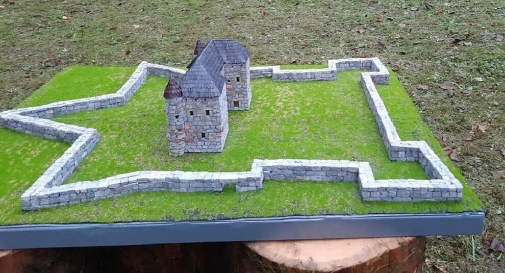 В Закарпатской области открыт музей с макетами замков