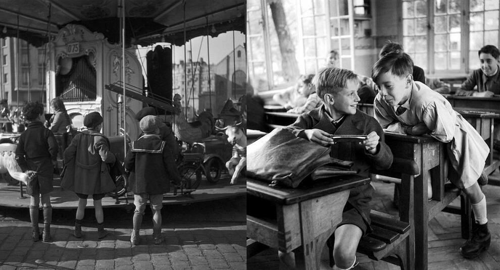 Назад в детство: изумительные фотоработы Робера Дуано