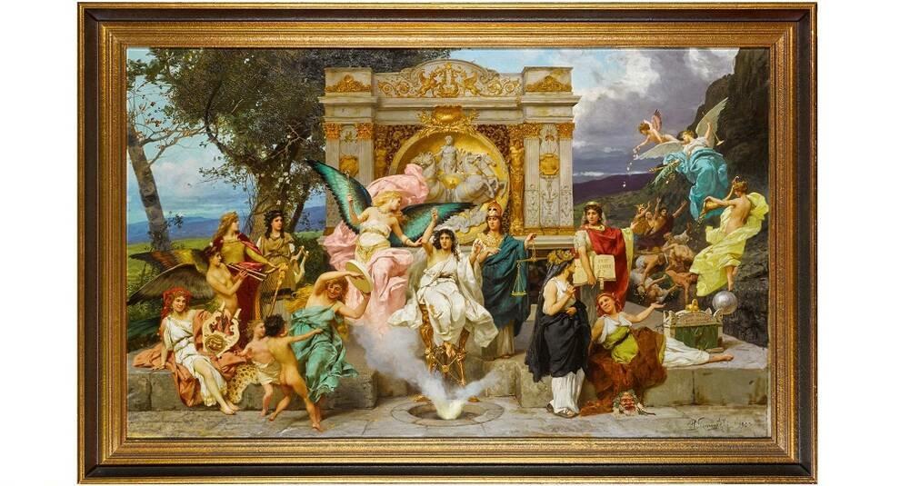 Копия занавеса Львовской оперы выставлена на Sotheby's