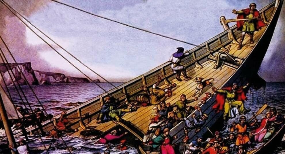 Трагедия английской монархии: крушение «Белого корабля»