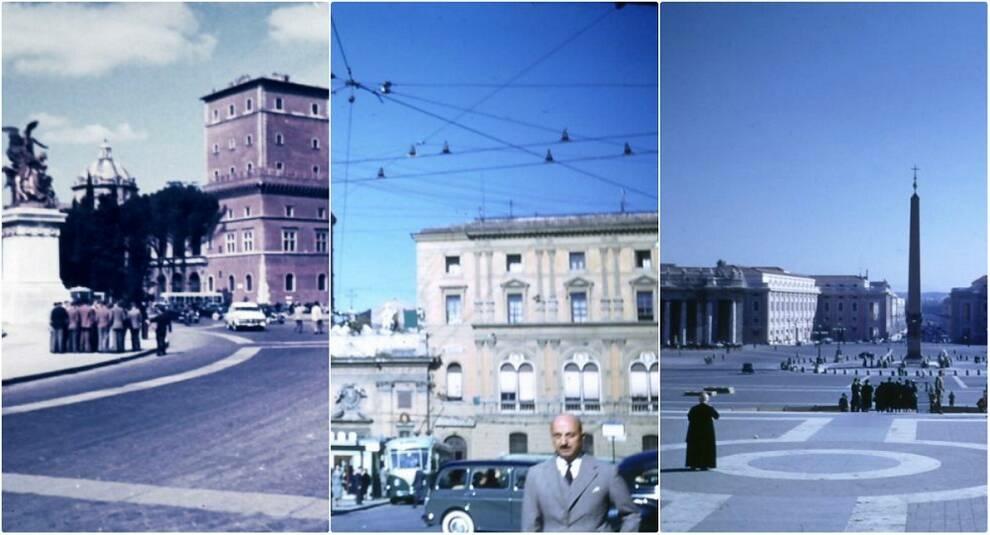 Городские пейзажи: как выглядел Рим в 1954 году