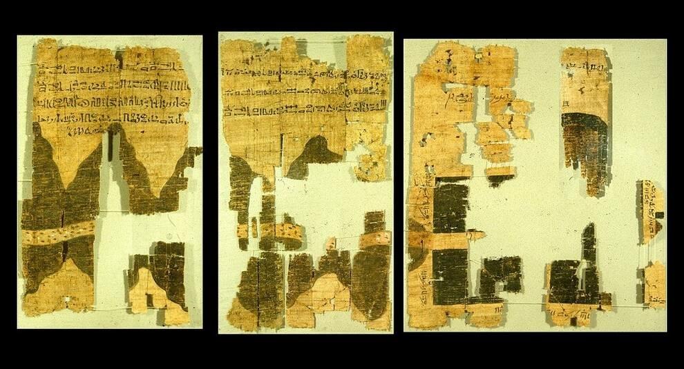 Туринская папирусная карта: древнейший египетский план с геологической информацией