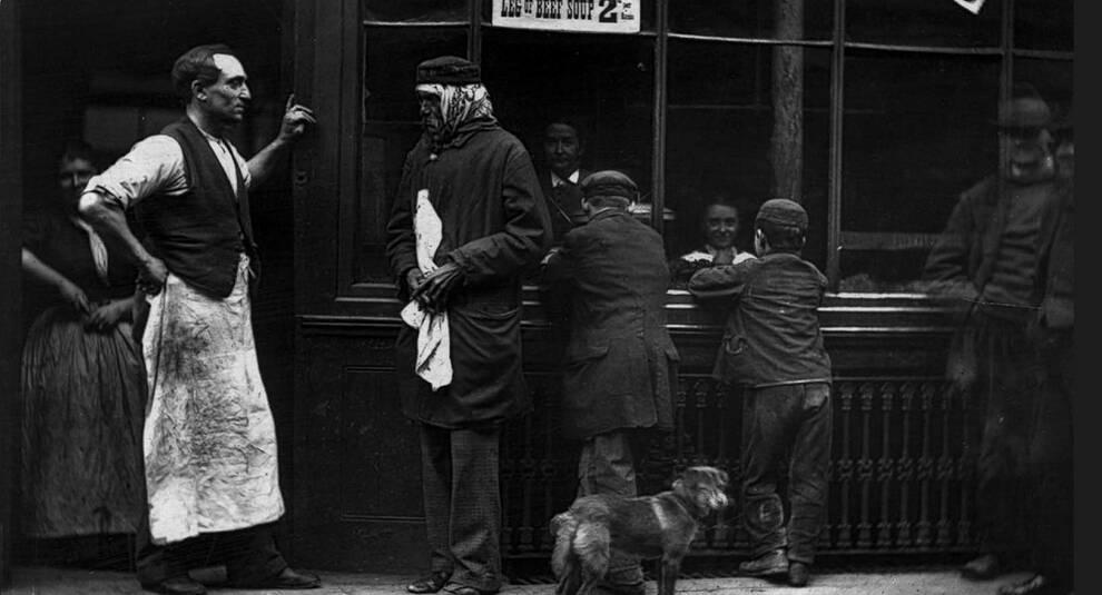 Уличная жизнь Лондона в викторианскую эпоху