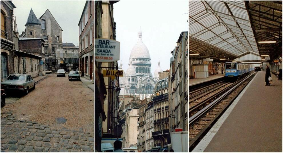 Столица Франции: улицы Парижа в 1980-х