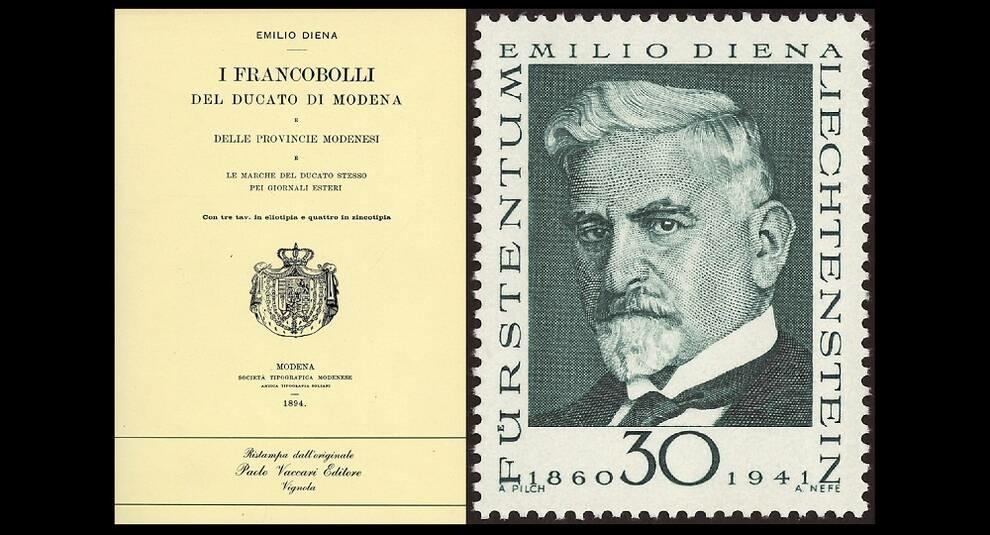 Эмилио Диена: один из величайших филателистов Италии