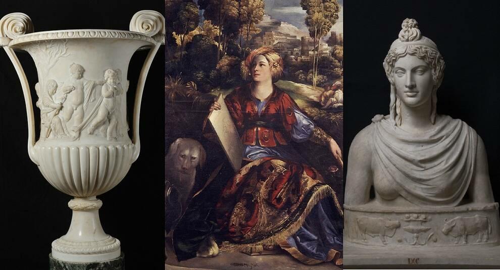 Произведения искусства из коллекции семьи Боргезе (часть I)