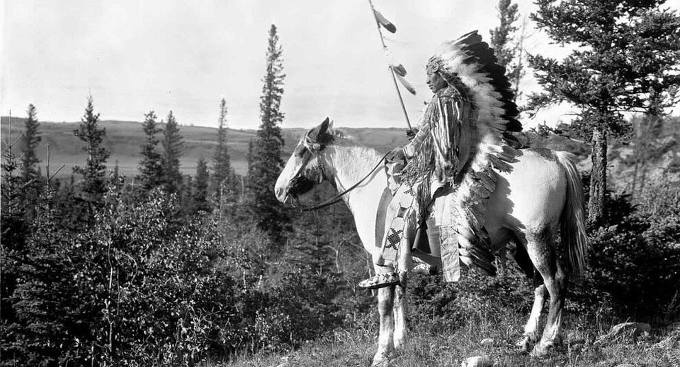 Коренные жители Канады на снимках Гарри Полларда