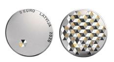 В Латвии выпустили монету, посвящённую свободе каждого человека