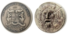 Уста истины: в Бенине выпущена монета весом 1 кг