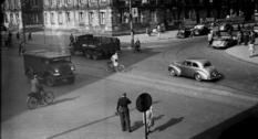 Послевоенный Амстердам на фото 1940-х годов
