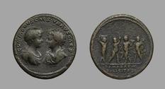 Коллекция монет Художественной галереи Йельского университета