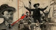На одном из рисунков Тулуз-Лотрека нашли изображение Ван Гога