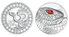 В Австрии появится монета номиналом 20 евро, посвящённая Радужному змею