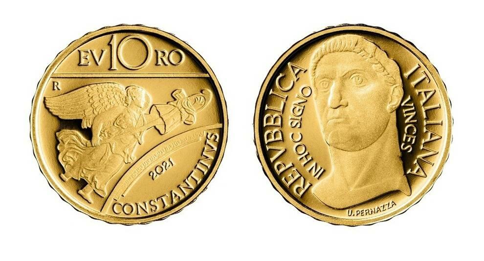 В Италии выпустили памятную монету