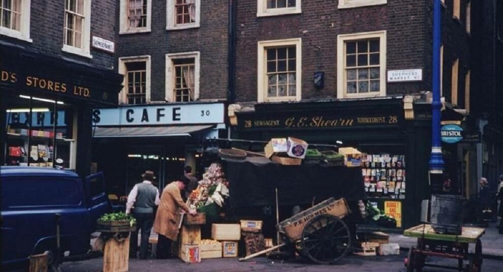 Лондон на фотографиях полувековой давности