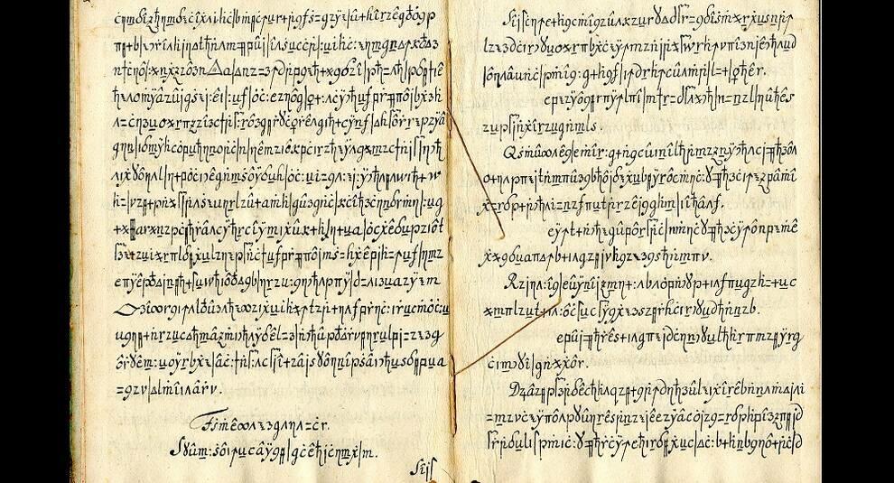 Copiale cipher: зашифрованная рукопись тайного общества Oculisten
