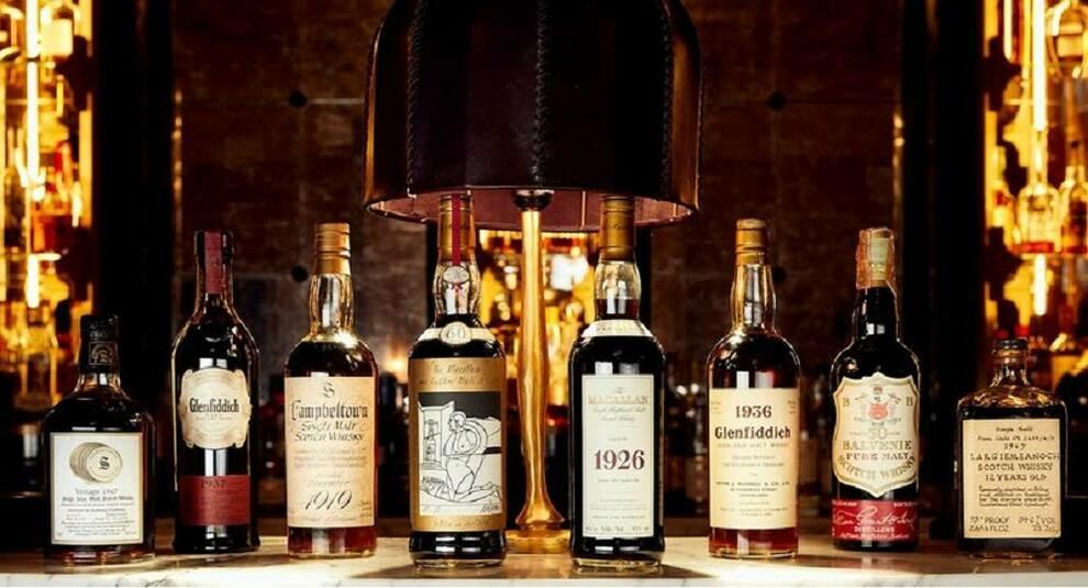В Шотландии продали самую крупную частную коллекцию виски