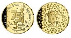 75-летие со дня выпуска «Маленького принца» во Франции отметили выпуском монеты