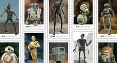 Десять дроидов: в США выпустили марки с изображением роботов из StarWars