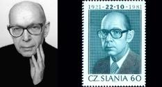 Гравёр почтовых марок Чеслав Сланя и его работы