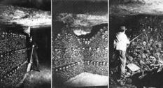 Парижские катакомбы на фотографиях Надара