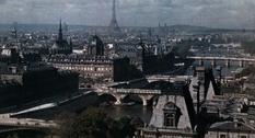 Париж на цветных фото Жерве-Куртельмона