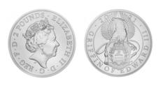 Серебряный грифон: в Великобритании выпустили монету номиналом 2 фунта