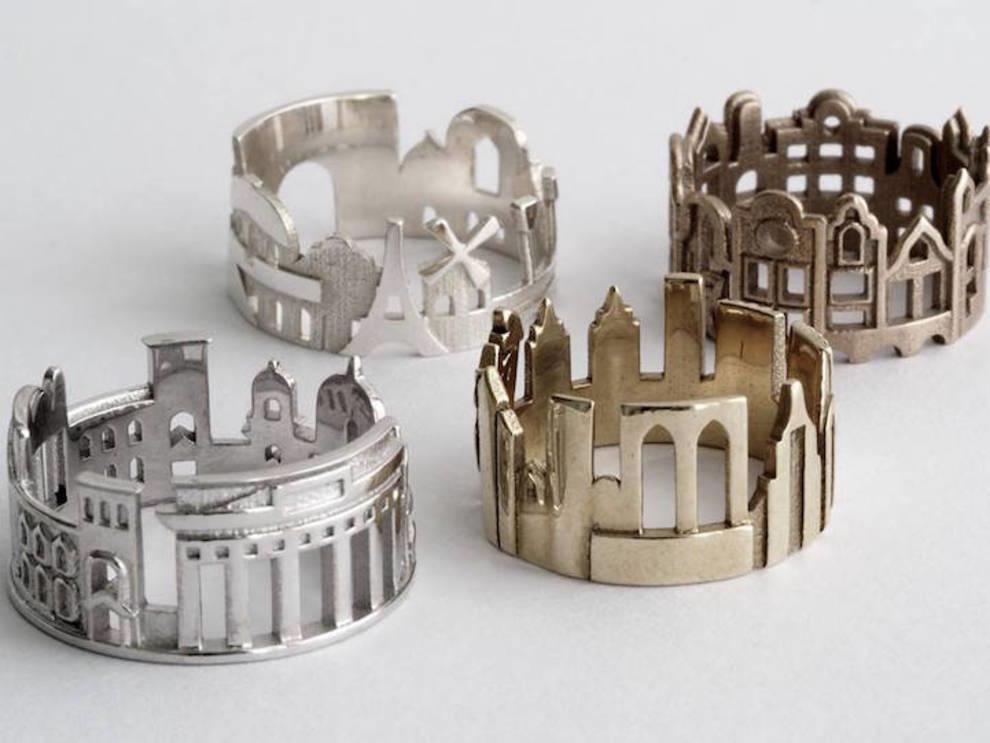 Как из колец создаются города