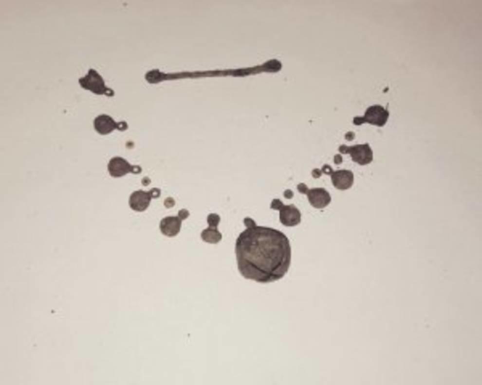 На Полтавщине нашли древние украшения
