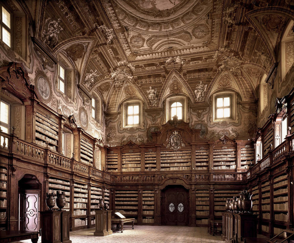 Онлайн-путешествие по старейшим библиотеками мира