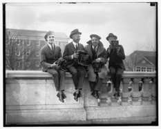 How the reporters shot in the early twentieth century