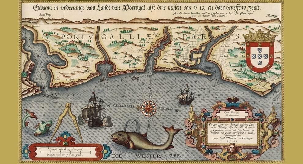 Мореплаватель и картограф Лука Вагенер