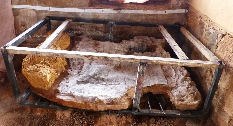 В Испании выкопали остатки древнеримского сейфа