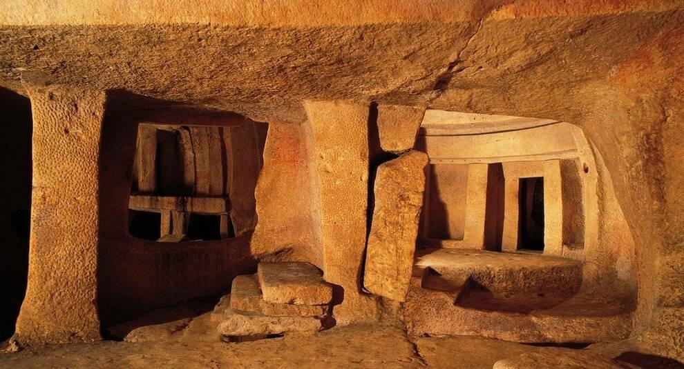 Хал-Сафлиени: древнейший храм Мальты