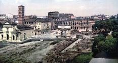 Рим на цветных снимках конца XIX века