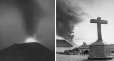 Извержение вулкана Парикутин в 1943 году