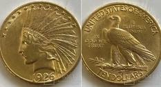 10 долларов, 1926 год, США