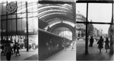 Легендарный вокзал Франкфурта, каким он был в середине прошлого века