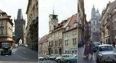 Urban landscapes of Czechoslovakia in the 1970s