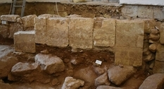Remains of an old chapel found under a church in Malta