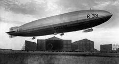 Дирижабль R33 на фото 1919–1925 годов