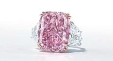 Diamond for $ 29 million: a gemstone with a purple hue is sold at Christie's