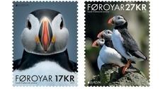 Фарерские острова выпустили две марки с изображением тупиков