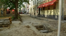 Archaeologists have found the remains of a defensive structure on one of the squares of Lviv
