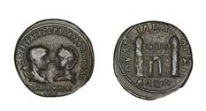 Монеты римских провинций из коллекции Германа Дэвида Вебера