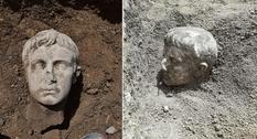 В итальянском городе Изерния нашли мраморную голову первого императора Римской империи