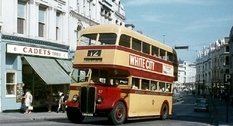 Isle of Man buses in the early 1970s