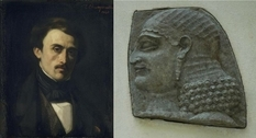 The discoverer of Assyrian palaces, Paul-Emile Botta