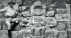 Фотографии находок майя второй половины XIX века