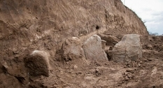 Ukrainian archaeologists have found a mound that was completed for several centuries